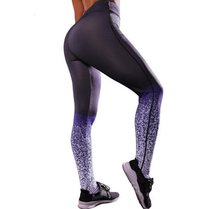 Fashion Energy Women Fitness Leggings High Elastic Waist Pants Sports Trousers Starry Printed Leggins Push Up Stretchy Clothing
