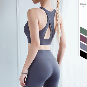 Fashion Sexy Tight Sports Shirt Fitness Women Sport Bra Top Workout Quick Dry Running Push Gym Fitness Bras Joga Sportswear