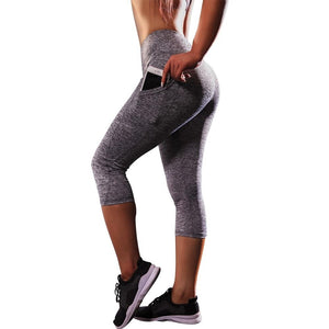 Fashion Leggings Sport Women Fitness Pants Training Trousers Pocket Exercise Workout Sportswear Stretch Slim Mallas