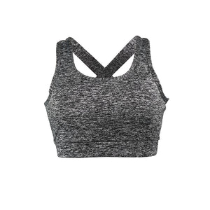 U-SHAPED SEXY CROSS-NECK CASUAL SPORTS BRA