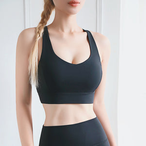 FASHION TIGHT SEXY FITNESS SPORTS BRA