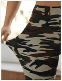 New Women Camo Stretch Joga Pant High Waist Skinny Gym  Leggings Fitness Sports Exercise Trousers Military Army Camouflage Long