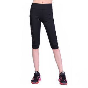 WOMEN SEXY SIDE POCKETS SPORT SLIM LEGGING