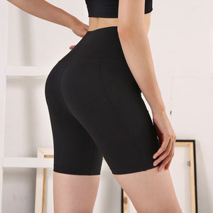 Women High Waist Energy Seamless Joga Shorts Push Up Hip Gym Shorts Fitness Sports Leggings