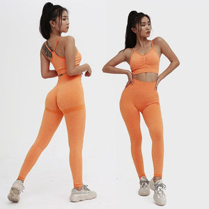2 piece Leopard Print Women Joga Sports Set Running Fitness Jogging Sleeveless Bras Gym Sportswear Workout Leggings Tracksuits