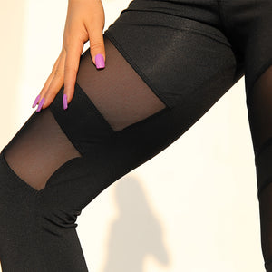 Casual Sexy Sport Fitness Leggings Women Breathable Gym Workout Pants Push up Jogging Sportswear leggings