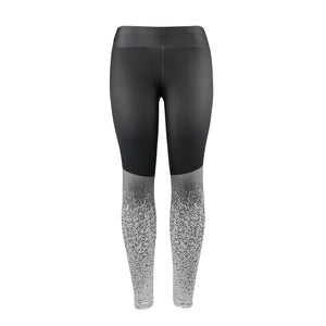 HIGH-WASTED STAR-SHAPED LEGGING