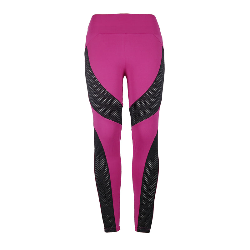 SLIM RUNNING PANTS WITH JOINTS FOR WOMEN