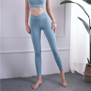 Fashion Seamless Cross High Waist Leggings Sport Women Fitness Feminin Joga Pants Gym Joggers Leggins Push Up Workout Sportswear