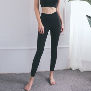 SEAMLESS CROSS LEGGING