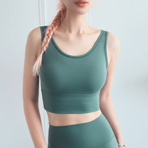 New Fashion Women Sports Bra Top Gym Fitness Quick Drying Tight Bras Running Tenue Sexy Femme Active Workout Sportswear Push up