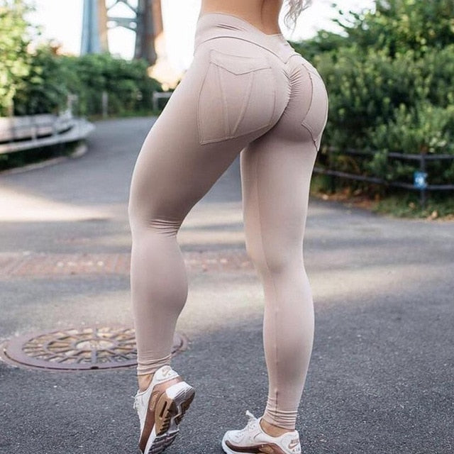 HIGH WAIST LEGGING FOR WOMEN FITNESS