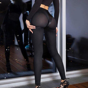 SOLID WOMEN'S FITNESS LEGGING
