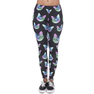 WOMEN LEGGING OF THE ROUND SHADOW AZTEC PRINT