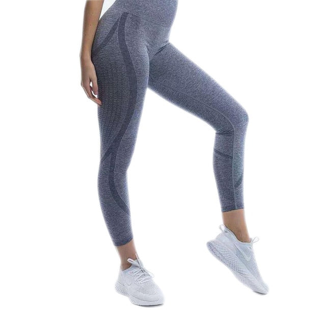 YOGA ELASTIC SEAMLESS LEGGING