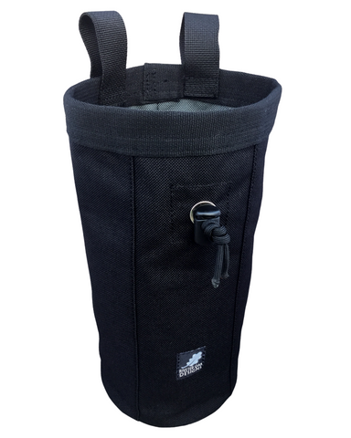 Black Industrial Chalk Bag - 10""