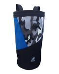 Blue Urban Camouflage Industrial Chalk Bag - 10""