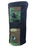 Woodland Camouflage Industrial Chalk Bag - 10""