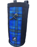 "Industrial Chalk Bag - 10"" - Blue Plaid"
