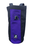 "Industrial Chalk Bag - 10"" - Purple Black"