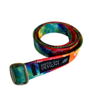"1"" Rainbow Webbing Belt"