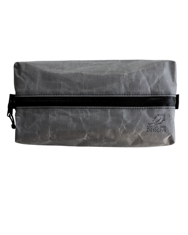 "Ultralight 2.92 DCF Dyneema Box Zipper Pouch - 8""x4""x2"""
