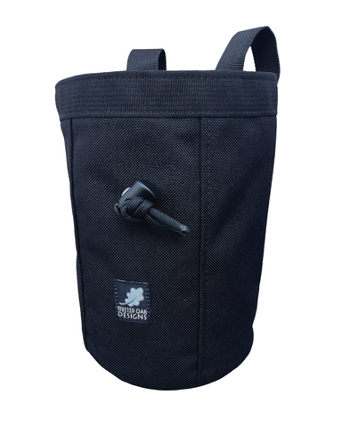 Black Industrial Chalk Bag Mini - 7""
