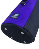 Purple & Black Industrial Chalk Bag Mini - 7""