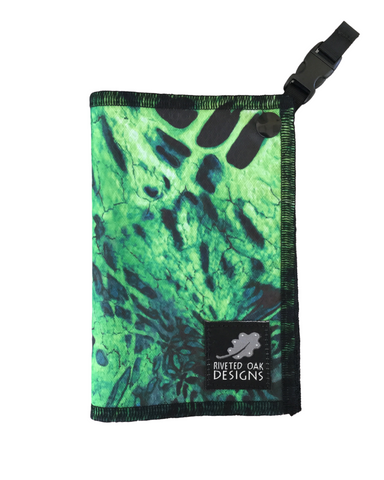 Bright Green Camo Hiking Hanky