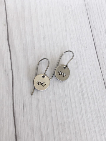 Canoe Steel Earrings - Riveted Oak Designs