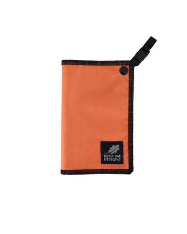 Hiking Hanky Orange - Handkerchief Wipe - Pee Rag - Reusable Wipe - Backcountry Bandana - Pee Cloth - Peedanana - Backpacker Gift