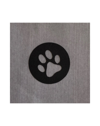 Dog Supplies Circle Sticker - Paw Print Sticker - Backpack Organization - Backpacker Gift - Pouch Labels
