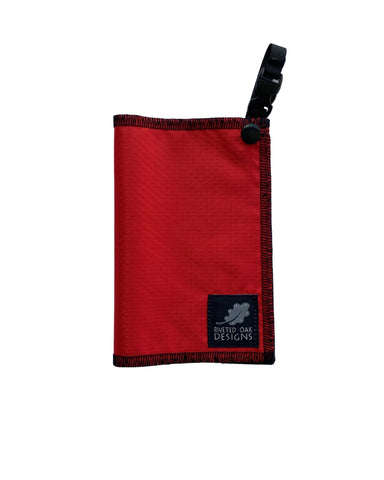 Hiking Hanky Red - Handkerchief Wipe - Pee Rag - Reusable Wipe - Backcountry Bandana - Pee Cloth - Peedanana - Backpacker Gift