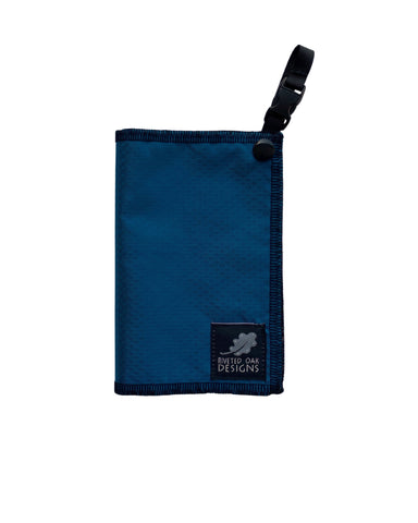 Hiking Hanky Royal Blue - Handkerchief Wipe - Pee Rag - Reusable Wipe - Backcountry Bandana - Pee Cloth - Peedanana - Backpacker Gift