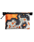"Orange Hexcam X-Pac VX-15 Zipper Pouch - 5""x7"""