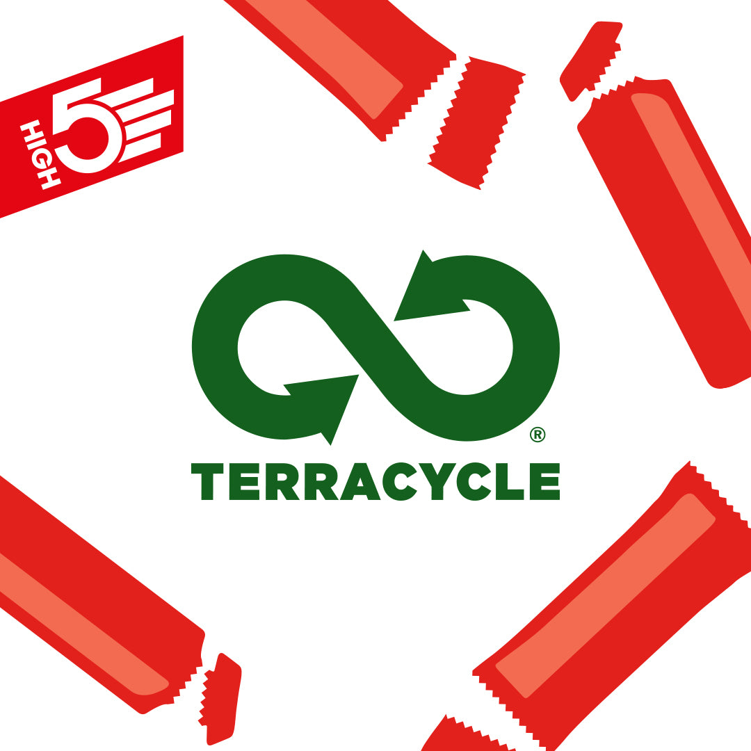 HIGH5 Partner with TerraCycle®