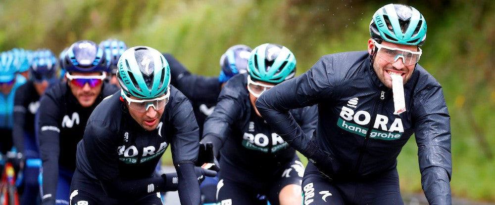 BORA-hansgrohe in a race