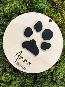 Pet Memorial Ornament/Sign