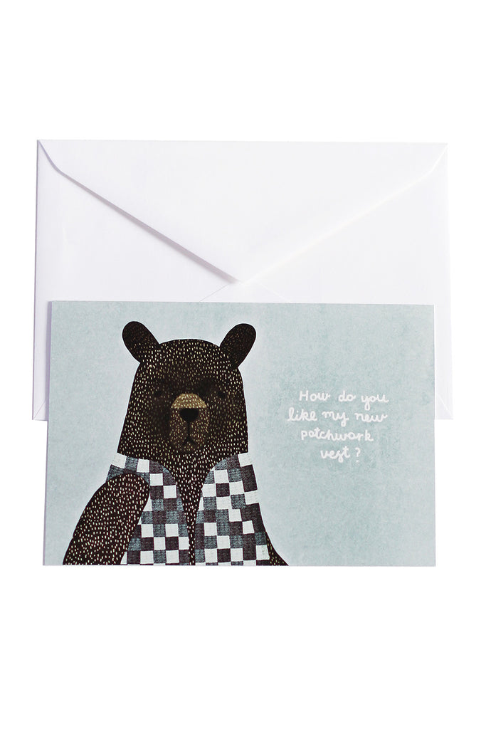 Bear Dress Up Vest - cards