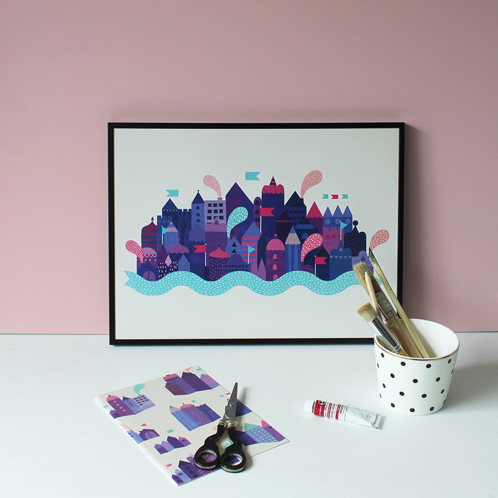 Purple City - poster