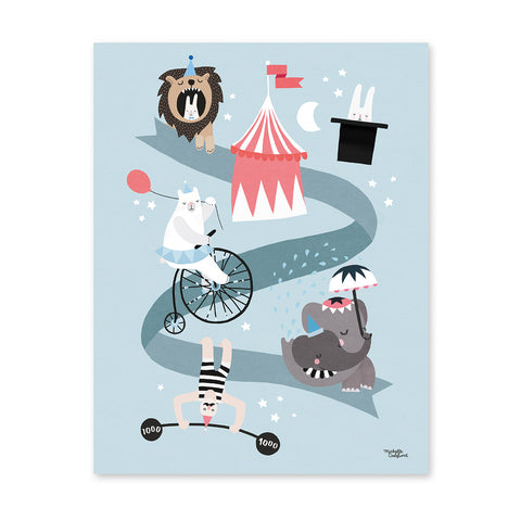 Circus Friends - poster