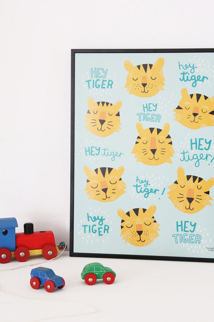 Hey Tiger - poster