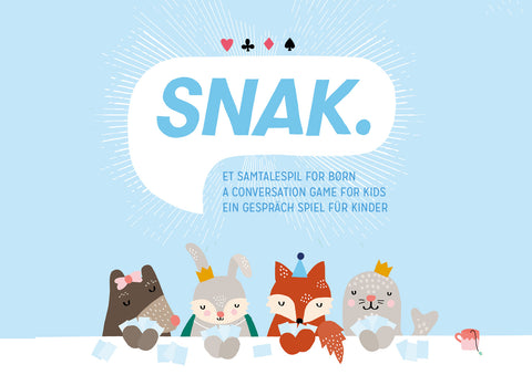 SNAK - a conversation game for kids
