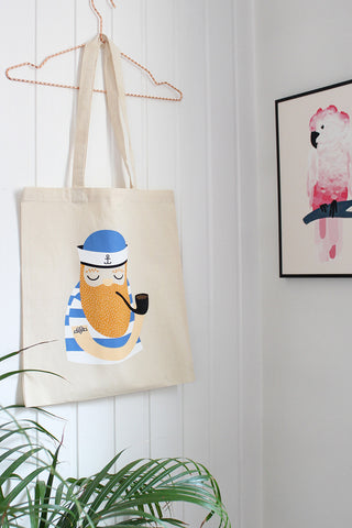 Sailor tote bag