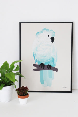 Green Cockatoo - poster