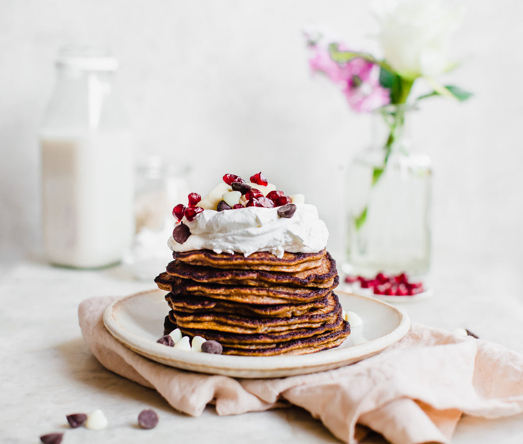 Grain-Free Gingerbread Pancakes