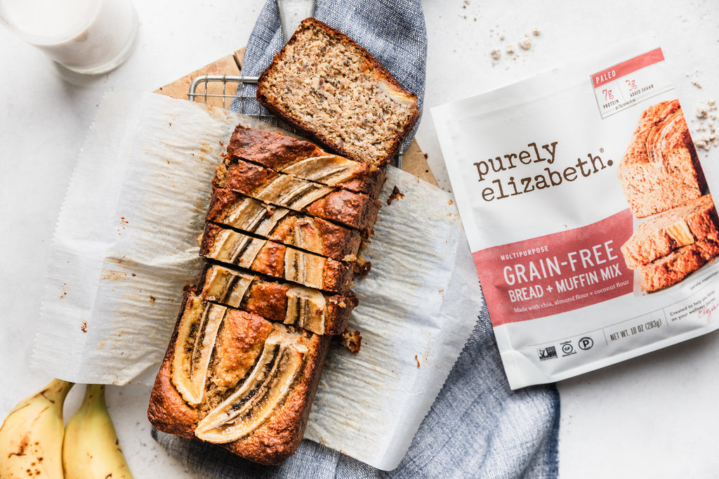 Purely Elizabeth Bread + Muffin Mix Recipe Roundup