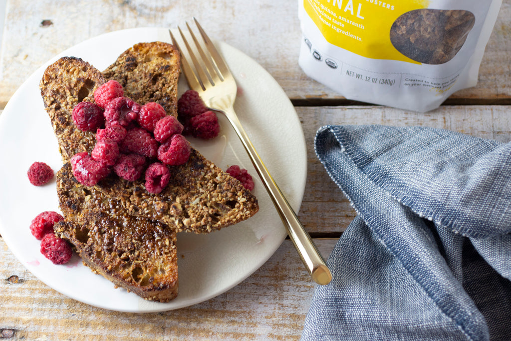 Granola Crusted French Toast