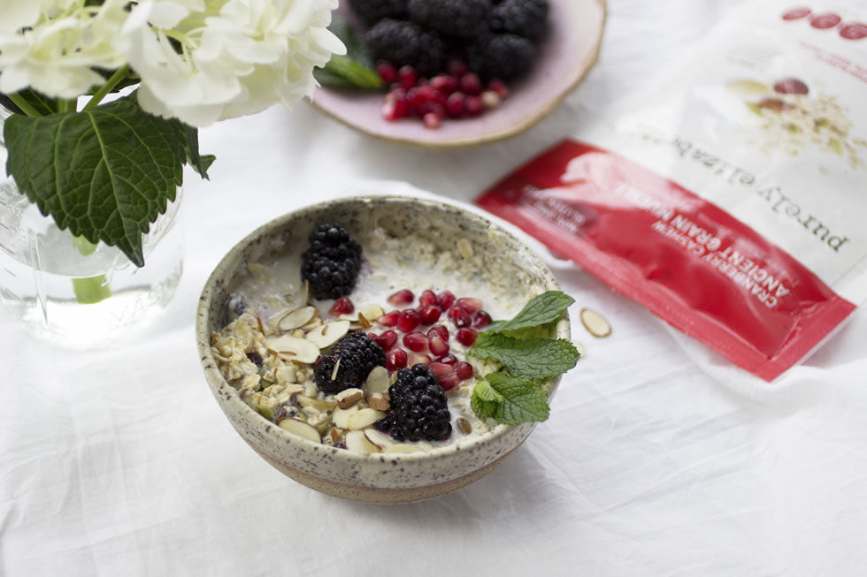 Earth Day Celebration With A Festive Earthy Bowl of Muesli