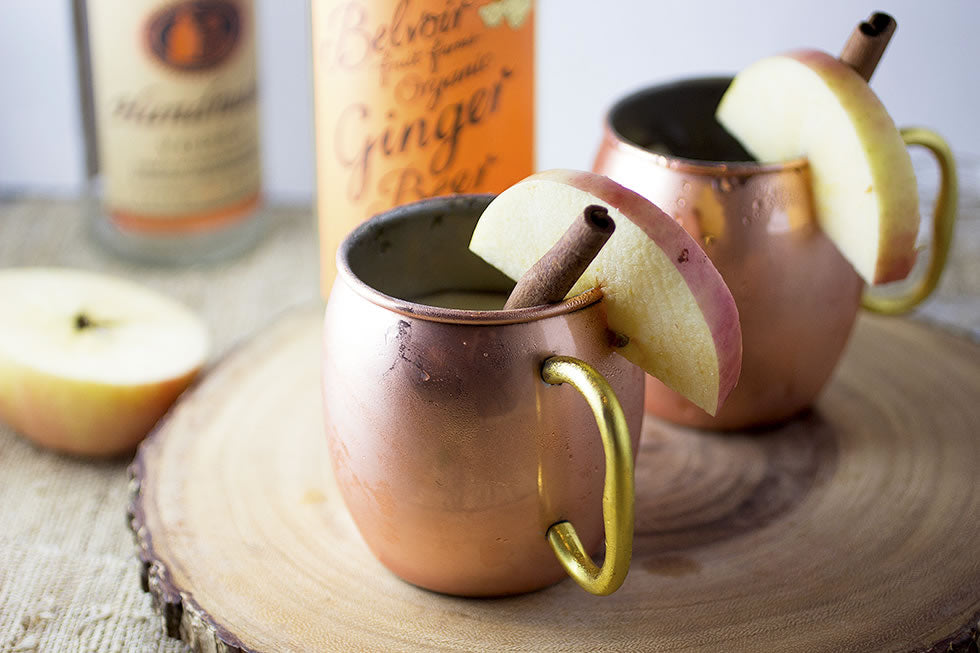 Fall Cocktail Obsession: Apple Cider Moscow Mule